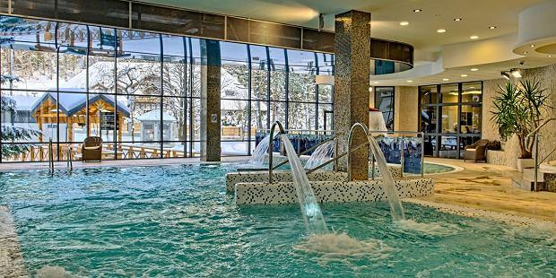 Basen w hotelu Czarny Potok Krynica / do jednorazowego użytku