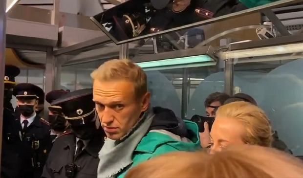 Zatrzymanie Aleksieja Nawalnego