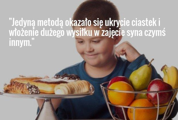 Dziecko i ciastka