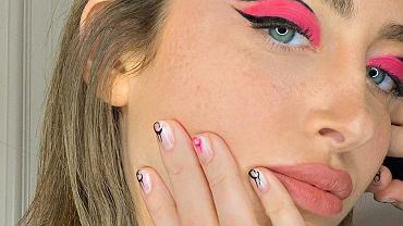 Kolorowy makijaż oka i paznokcie w tym samym kolorze to nowy trend na wiosnę 2020