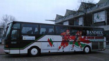 Nowy autobus hokeistów Zagłębia Sosnowiec
