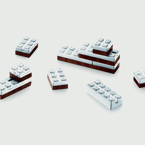 Sterling Silver Building Blocks