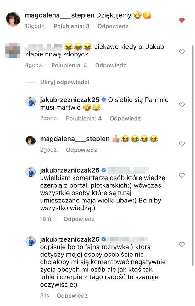 Screen z Instagrama Plotka