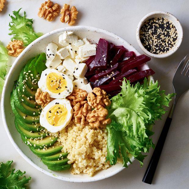 Bulgur z tofu i warzywami