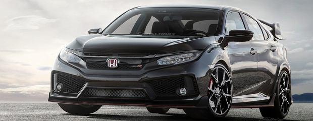 Wizualizacja Honda Civic X Type R
