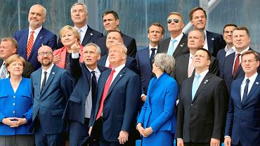 Szczyt NATO w Brukseli.