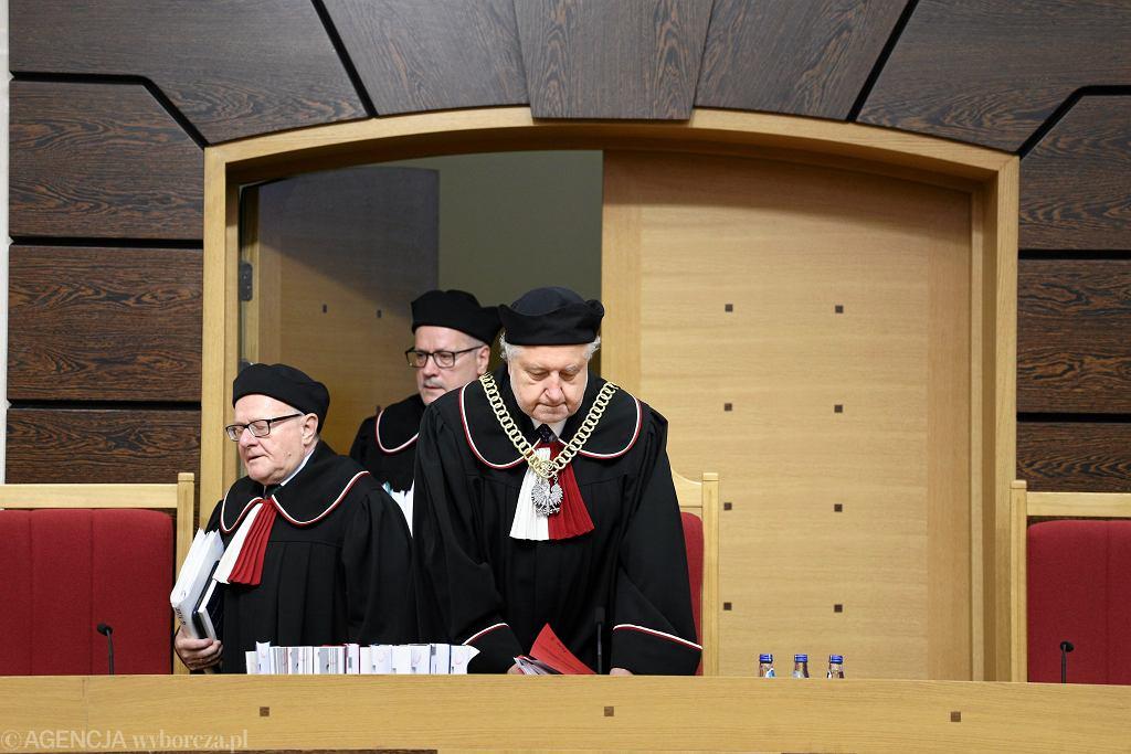 Prof. Andrzej Rzepliński - Prezes Trybunału Konstytucyjnego