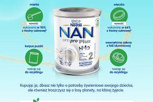 Nowe puszki NAN 2 w 100 proc. nadają się do recyklingu