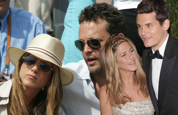 Jennifer Aniston, Vince Vaughn i John Mayer