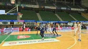 Koszykarze Stelmetu Enea BC Zielona Góra rozegrali pierwszy w historii domowy mecz przy pustych trybunach. To z powodu koronawirusa. MKS Dąbrowa Górnicza ograli wynikiem 97:74