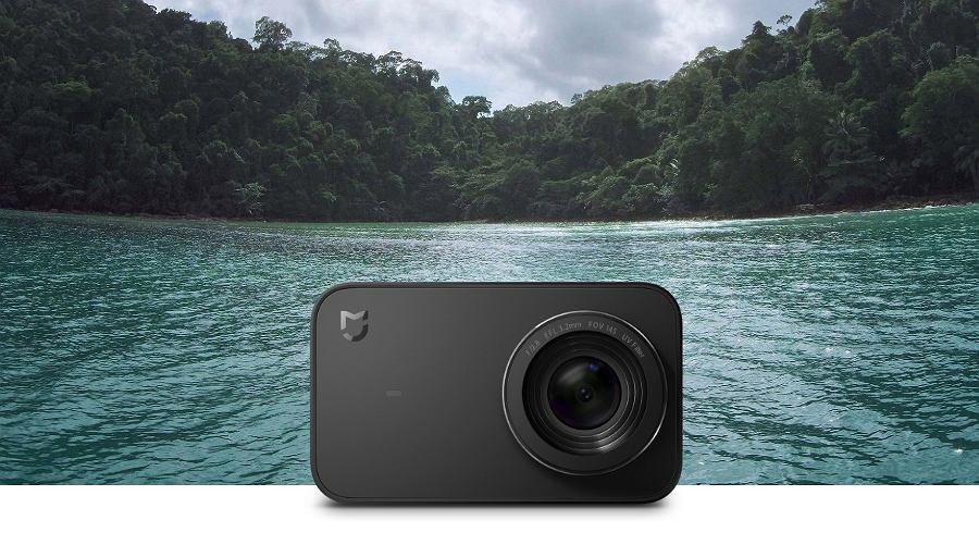 Xiaomi Mija 4K - kamera sportowa