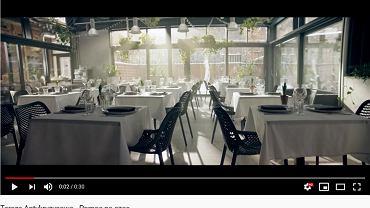 Rząd nagrał spot o tarczy antykryzysowej w restauracji. Właściciele: 'Kompletna fikcja'. Teraz się tłumaczą