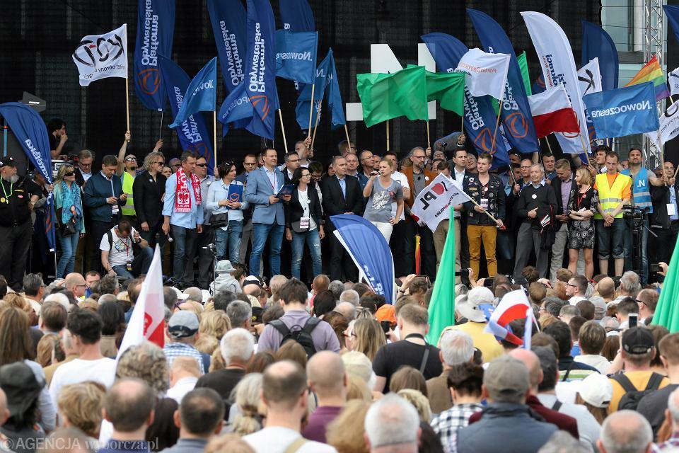Marsz KOD i opozycji z 7 maja 2016 r.