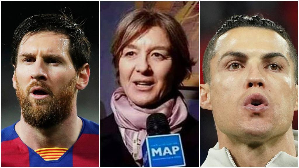 'Niech Ronaldo i Messi znajdą wam lekarstwo na koronawirusa'. Fejkowy cytat to podwójne szalbierstwo
