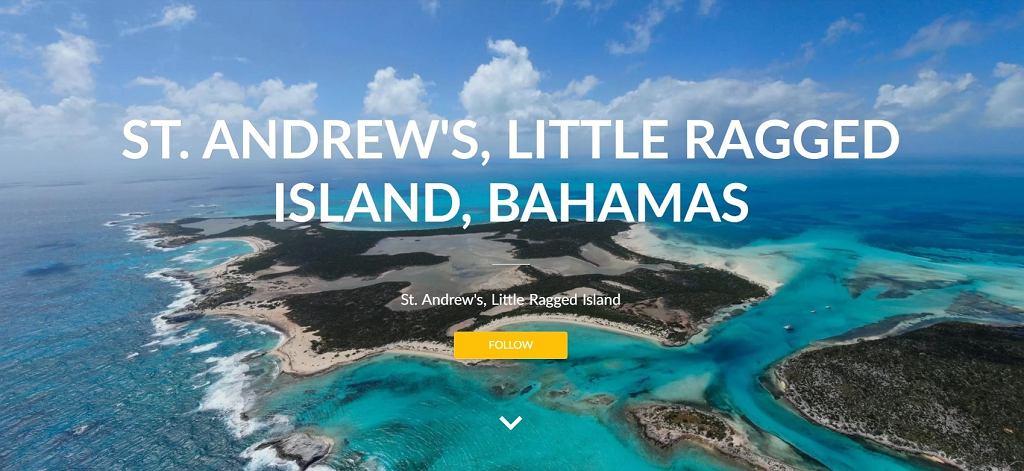 Wyspa do kupienia na Bahamach