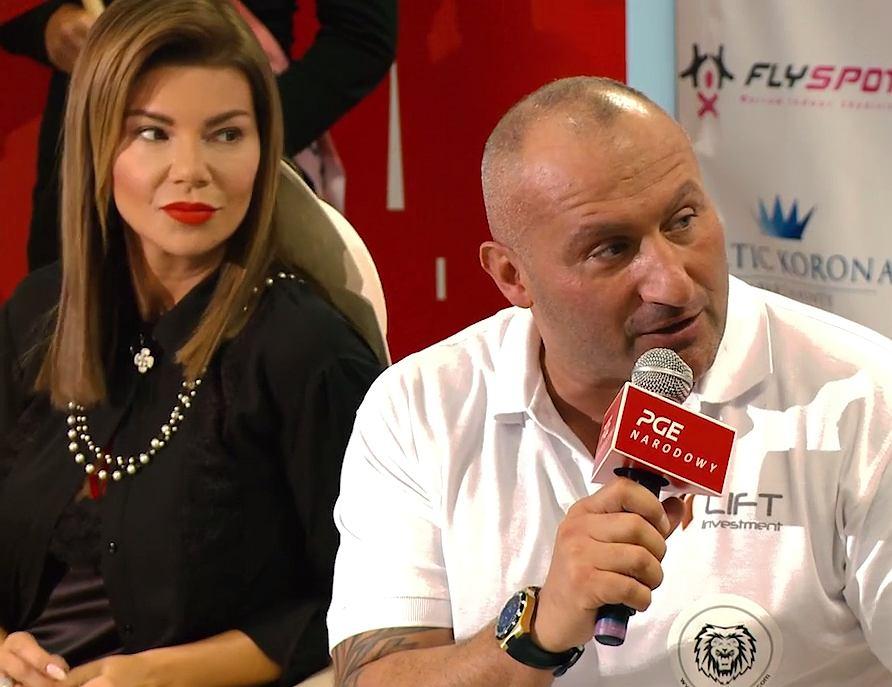 Edyta Górniak i Marcin Najman