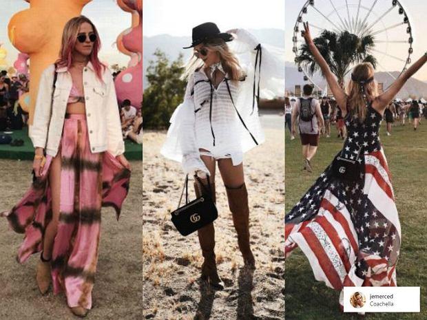 Zdjęcie numer 8 w galerii - Coachella 2017. Seksowne gorsety, szorty... Nam BARDZO podobała się Polka, ale to strój Rihanny przejdzie do historii