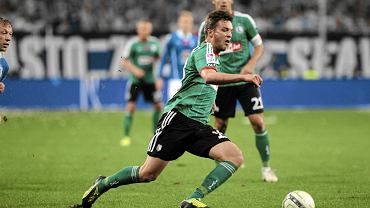 Bartosz Bereszyński w meczu Lech - Legia