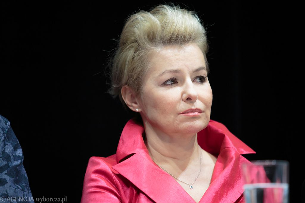 Aktorka Aleksandra Konieczna. Szkoła Filmowa w Łodzi to uczelnia, na której wykłada