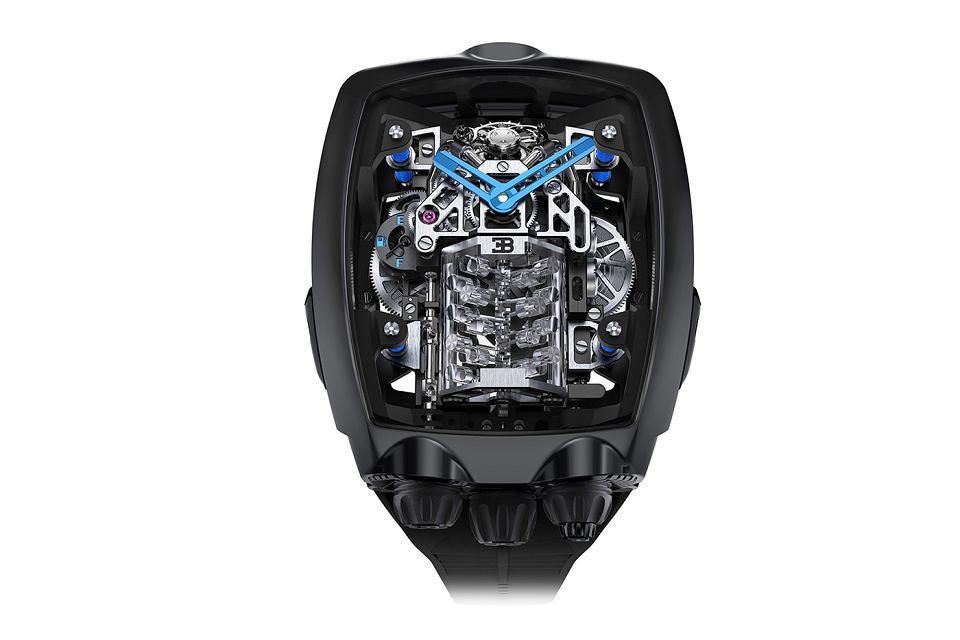 Zdjęcie numer 1 w galerii - Bugatti Chiron jako zegarek. Oto najnowsze dzieło Jacob and Co