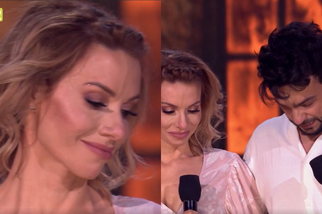 Małgorzata Opczowska i Robert El Gendy w 'Dance Dance Dance'
