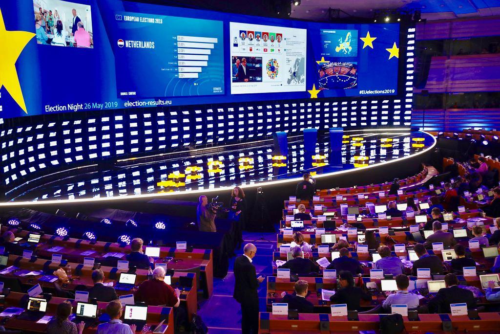 Wyniki wyborów do europrlamentu
