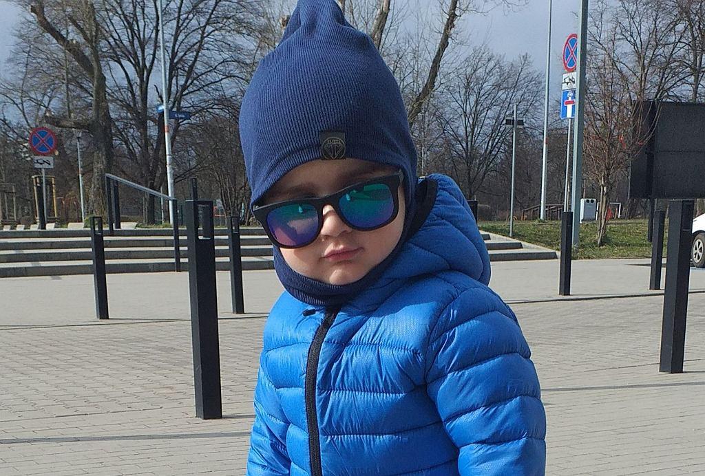 Eryk jest pacjentem wrocławskiej kliniki Przylądek Nadziei. Walczy z ostrą białaczką szpikową
