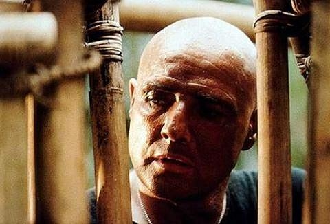 Marlon Brando w filmie 'Czas Apokalipsy'