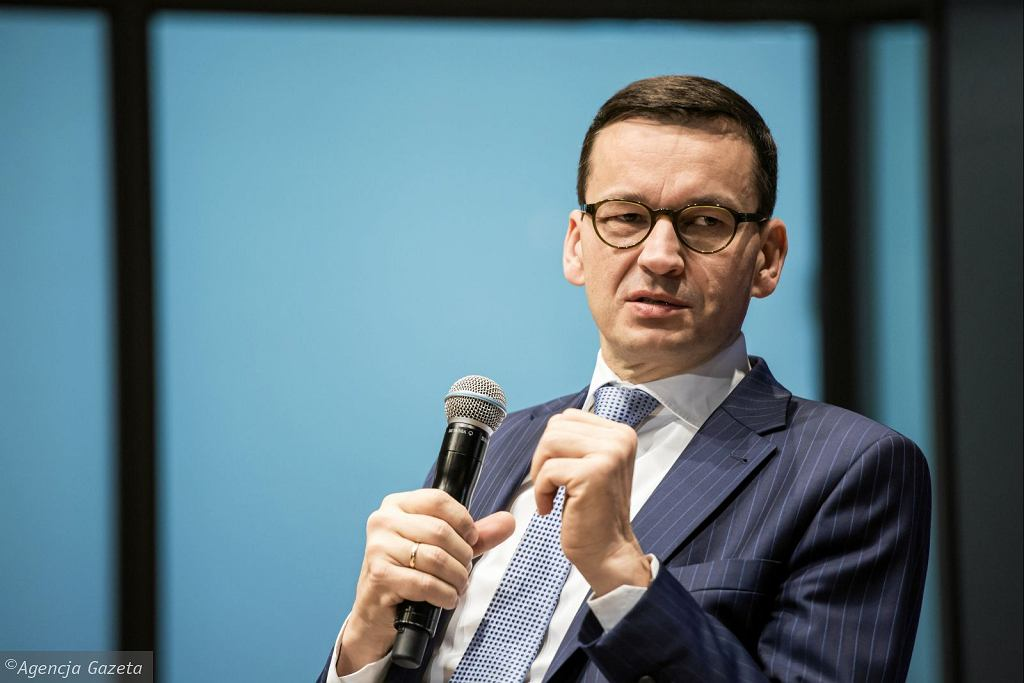 Premier Mateusz Morawiecki (fot. Adam Stępień/AG)