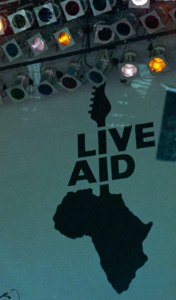 Logo Live Aid