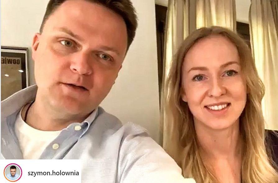 Żona Szymona Hołowni nie chodzi z nim do kościoła