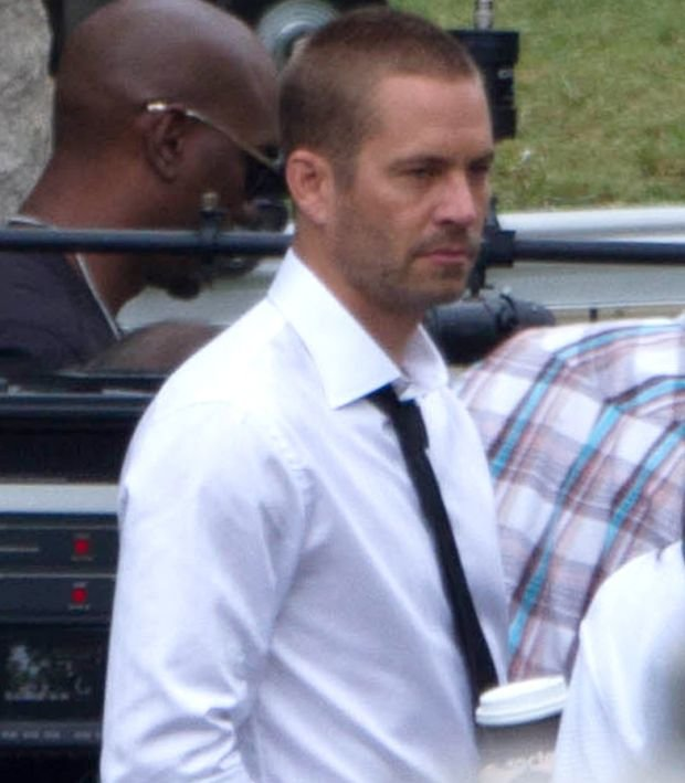 *EXCLUSIVE* Atlanta, GA - The late Paul Walker films scenes for 'Fast & Furious 7' with his co-stars Michelle Rodriguez, Christopher Bridges, A.K.A Ludacris, Nathalie Emmanuel, Tyrese Gibson and Dwayne 'The Rock' Johnson in Atlanta, Georgia.  In one scene Walker is seen happy and filming a scene in a cemetery.  In another his co-stars come to the rescue after Vin Diesel's car flips off a parking garage.      AKM-GSI        November  30, 2013      To License These Photos, Please Contact :    Steve Ginsburg  (310) 505-8447  (323) 423-9397  steve@akmgsi.com  sales@akmgsi.com    or    Maria Buda  (917) 242-1505  mbuda@akmgsi.com  ginsburgspalyinc@gmail.com