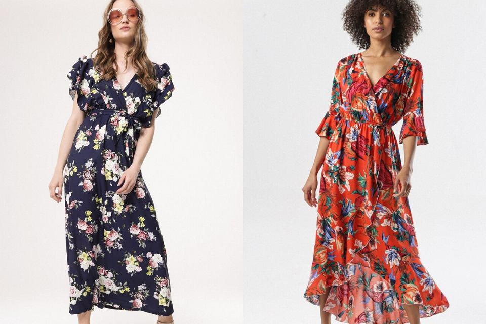 Sukienki w kwiaty na wiosnę