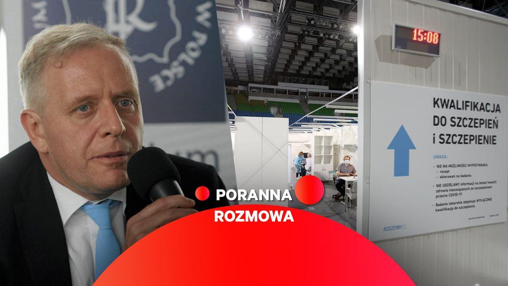 Dr Michał Sutkowski gościem Porannej Rozmowy Gazeta.pl
