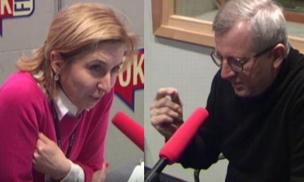 Dominika Wielowieyska i Marek Siwiec w