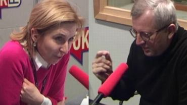 """Dominika Wielowieyska i Marek Siwiec w """"Poranku Radia TOK FM"""""""