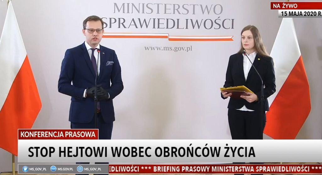 Zuzanna Wiewiórka odznaczona przez wiceministra sprawiedliwości