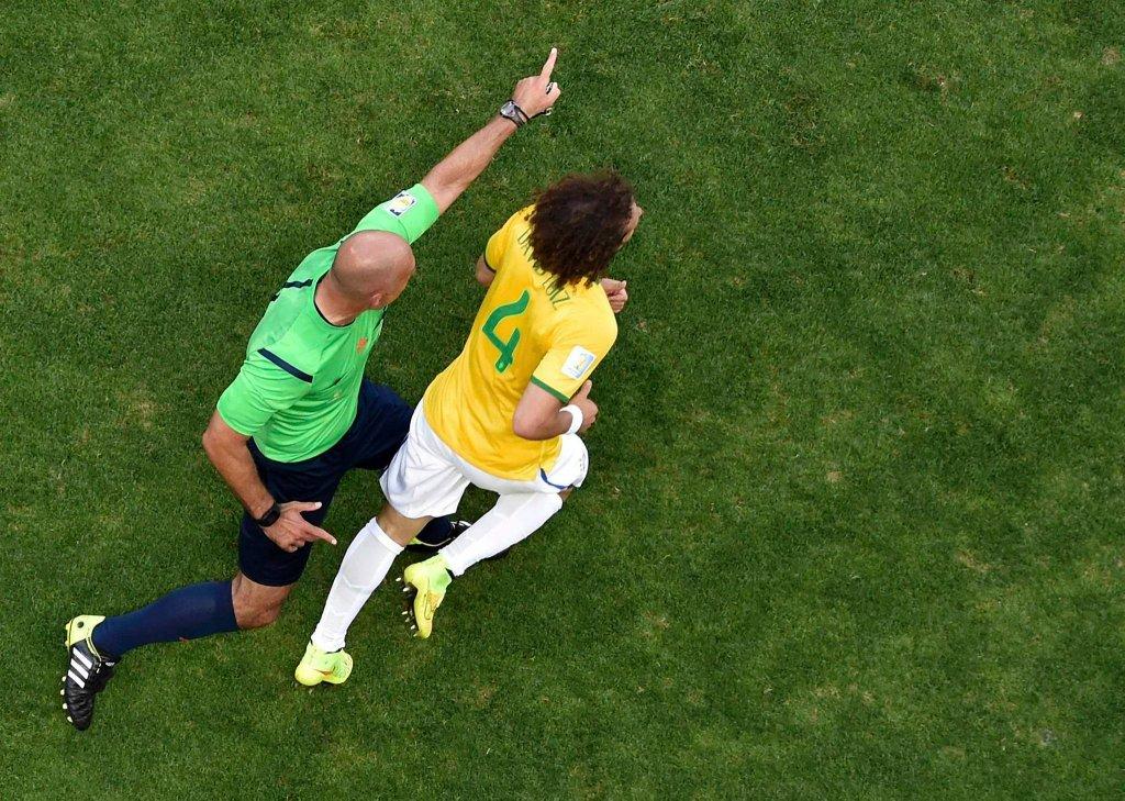 Howard Webb i David Luiz