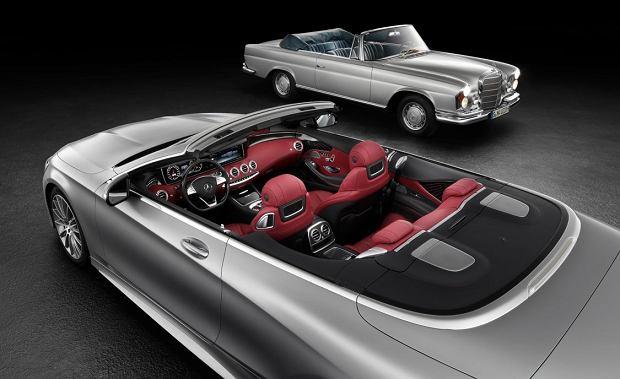 Mercedes klasy S Cabrio