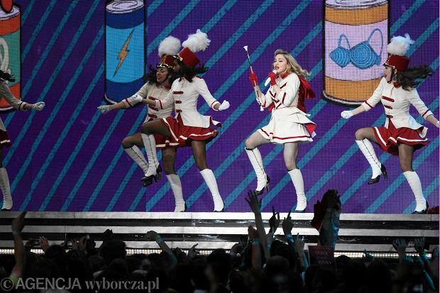 Madonna na Stadionie Narodowym 1 sierpnia 2012.