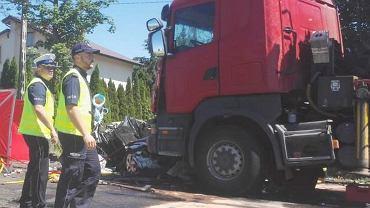 Wypadek w Myszyńcu Starym
