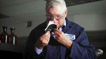 George Aldrich, ekspert NASA od zapachów