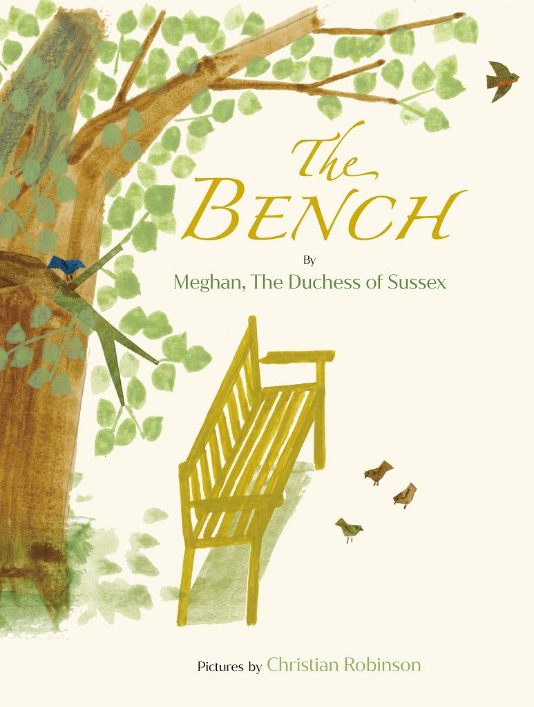 Okładka książki 'The Bench' Meghan Markle