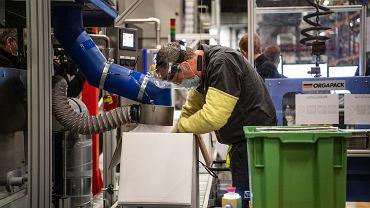 Fabryka szczepionek firmy Pfizer w Belgii