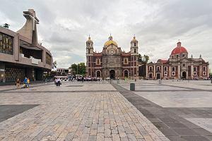 Miasto Meksyk. Sanktuarium Madonny z Guadalupe