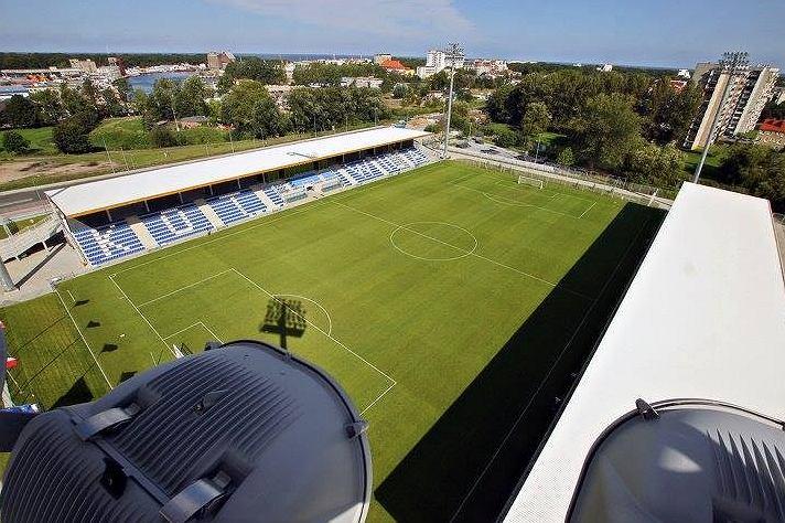Stadion Miejski im. Sebastiana Karpiniuka w Kołobrzegu (Kotwica Kołobrzeg). Źródło: Facebook