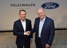 Ford i Volkswagen zdradzają szczegóły współpracy. Będzie wspólny samochód elektryczny