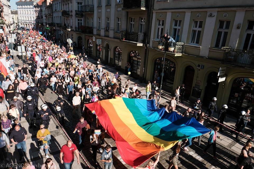 22.09.2019 Kalisz . Pierwszy Kaliski Marsz Równości