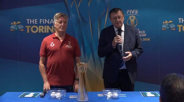 Losowanie III fazy siatkarskich mistrzostw świata