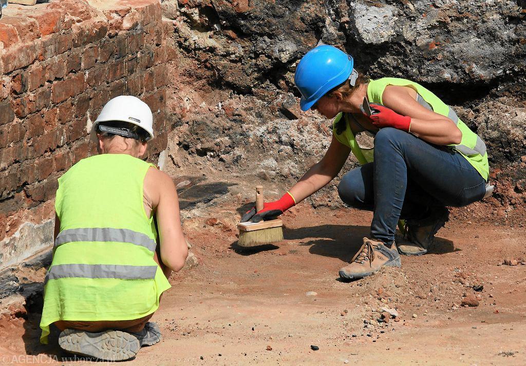 Prace archeologiczne [zdjęcie ilustracyjne]